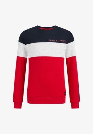 MET STRUCTUUR - Long sleeved top - multi coloured