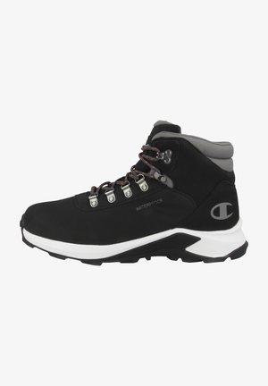 HIGH CUT MICAN - Hiking shoes - black