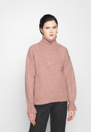 YASPHANA ZIP - Jumper - blush