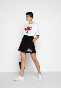 Love Moschino - A-line skirt - black - 1