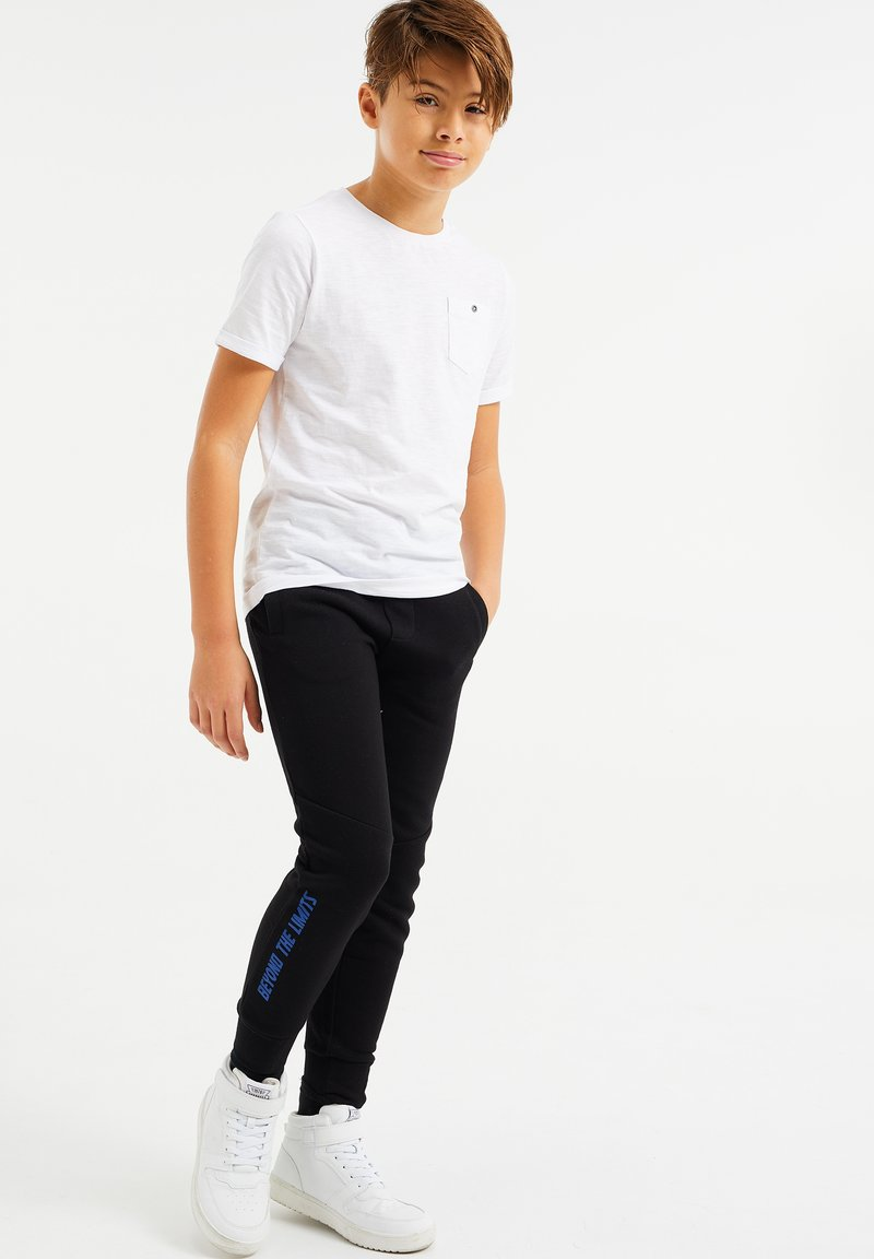 WE Fashion - Tracksuit bottoms - black