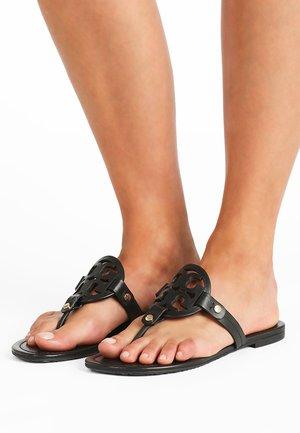 MILLER - T-bar sandals - perfect black