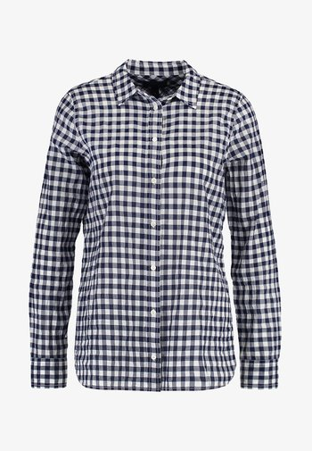 RELAXED CRINKLE GINGHAM