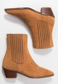 Zadig & Voltaire - TYLER  - Cowboy/biker ankle boot - tan - 3
