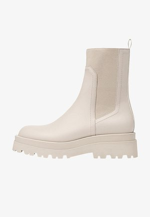 Stiefelette - off white
