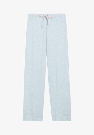Pyjama bottoms - celestial blue mel.