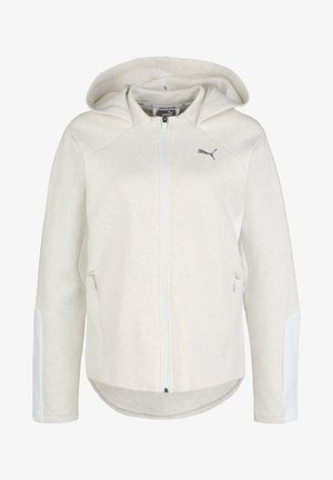 EVOSTRIPE - Training jacket - puma white heather