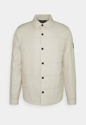 CRINKLE JACKET - Light jacket - bleached stone