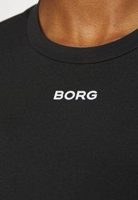 Björn Borg - CATO TEE - Sports shirt - black beauty - 4