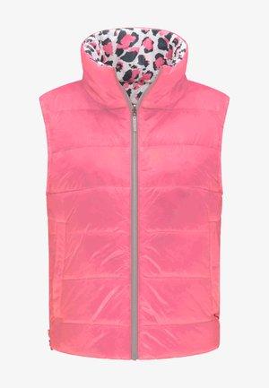 JUNA REVERSIBLE - Waistcoat - fanatic pink