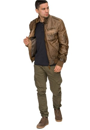 INCO - Faux leather jacket - braun