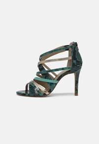 San Marina - NITORA MUSA - High heeled sandals - lagon - 1