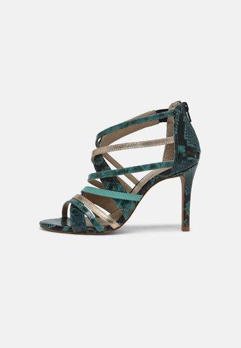 NITORA MUSA - High heeled sandals - lagon