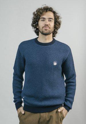 AKITO INDIGO - Sweatshirt - blue