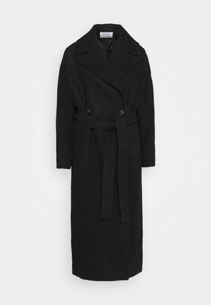 KIA BLEND COAT - Płaszcz wełniany /Płaszcz klasyczny - black