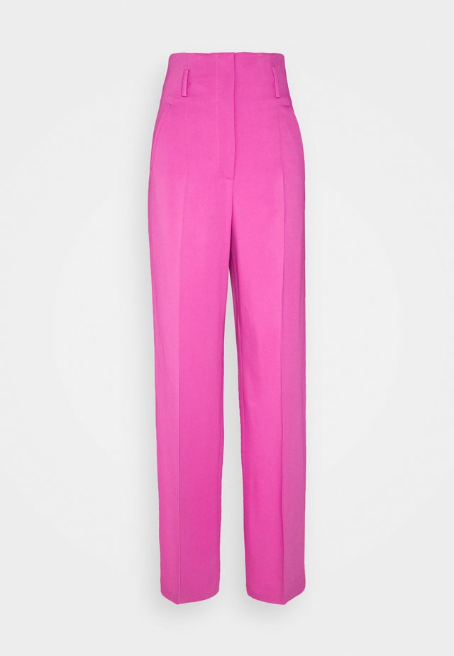 TROUSERS - Pantaloni - violet