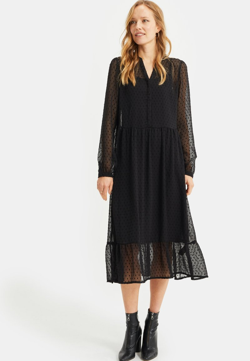 WE Fashion - MET DESSIN - Cocktail dress / Party dress - black