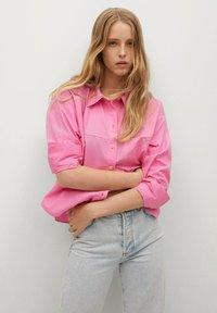 Mango - Button-down blouse - rose - 0