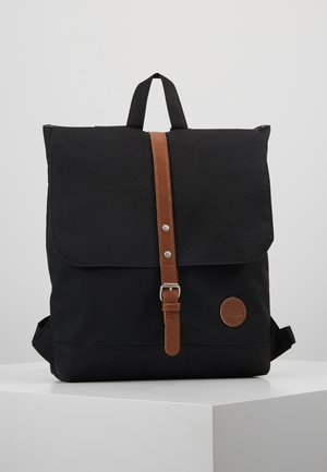 BACKPACK MINI ENVELOPE - Plecak - black/tan