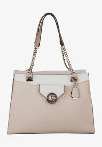 Handbag - stone multi
