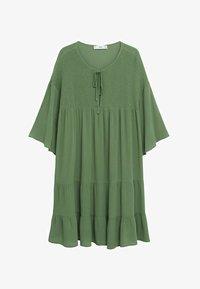 Mango - BAMBU-H - Sukienka letnia - green - 6