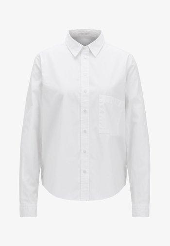 EMANEW - Button-down blouse - white