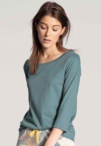 Calida - MIT 3/4-ARM - Pyjama top - eucalyptus - 0