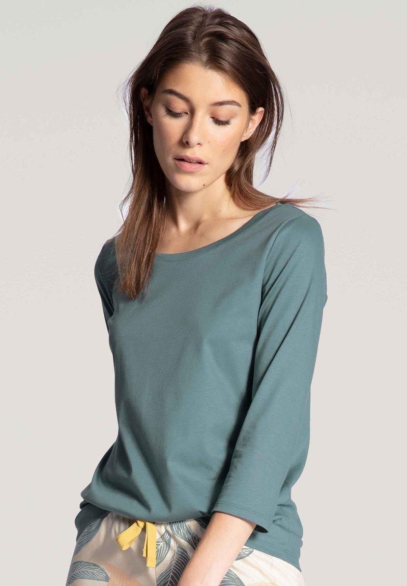 Calida - MIT 3/4-ARM - Pyjama top - eucalyptus