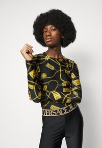 Versace Jeans Couture - Long sleeved top - black - 5