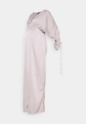 WRAP RUCHED - Overal - silver