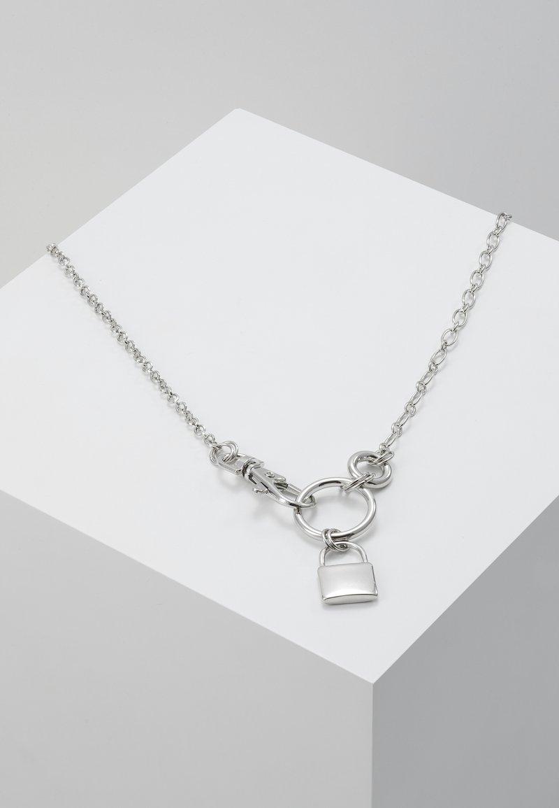 Hikari - PACK LOCK PENDANT - Halskæder - silver-coloured