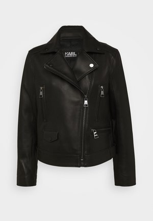 LEGEND BIKER JACKET - Kožená bunda - black