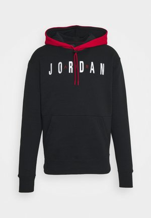 JUMPMAN AIR - Bluza - black/gym red