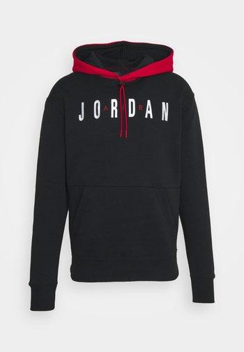 JUMPMAN AIR - Sweatshirt - black/gym red