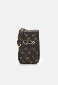 Guess - MANHATTAN CHIT CHAT - Across body bag - brown - 0