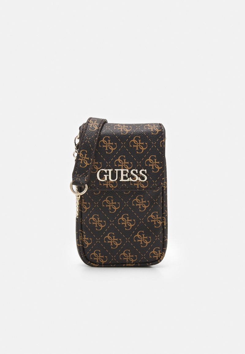 Guess - MANHATTAN CHIT CHAT - Across body bag - brown