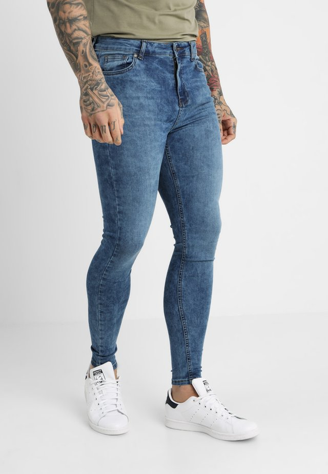 CLEAN  - Skinny džíny - blue