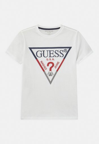 JUNIOR UNISEX - Print T-shirt - true white