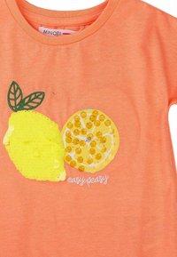 MINOTI - T-shirt print - orange - 2