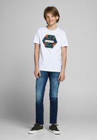 Jack & Jones Junior - Jeans Slim Fit - blue denim - 0