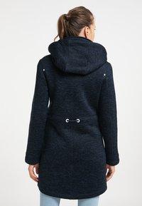 ICEBOUND - Short coat - dunkemarine melange - 2