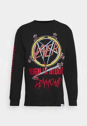 REIGN IN BLOOD TEE - Long sleeved top - black