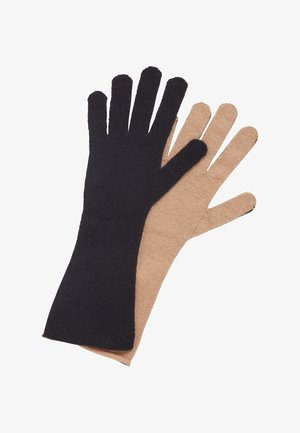 GABRINA - Gloves - black, beige