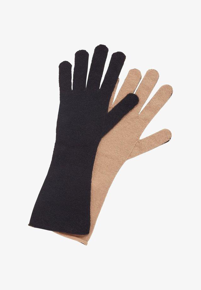 GABRINA - Fingerhandschuh - black, beige