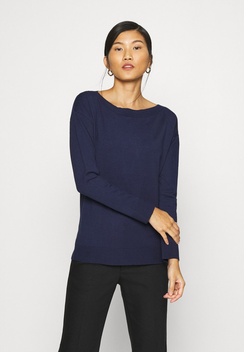 Sisley - Jumper - dark blue