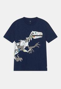 GAP - BOY TEE ZIPPER - T-shirt con stampa - elysian blue - 0