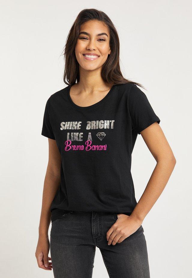 T-shirts print - schwarz