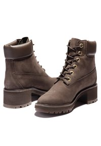 Timberland - KINSLEY 6 INCH WP - Lace-up ankle boots - dark brown nubuck - 1