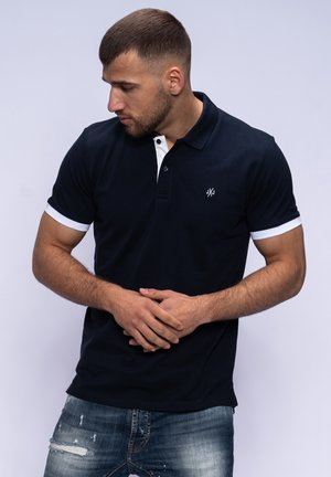 NEU SS - Polo shirt - navy blazer/white