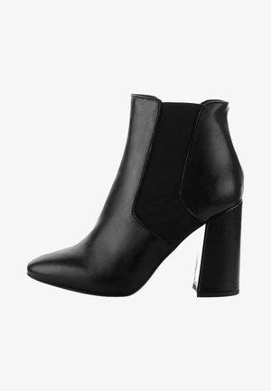 PIERIS - High heeled ankle boots - black